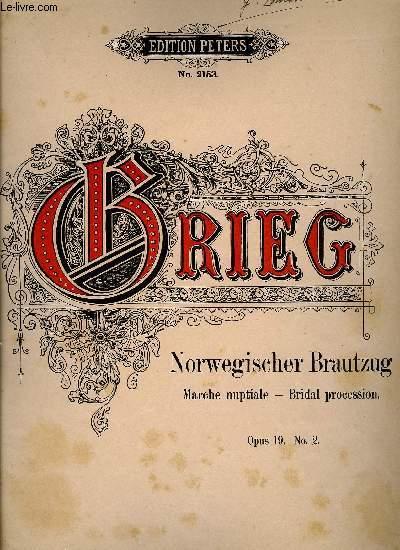 NORWGISCHER BRAUTZUG (MARCHE NUPTIALE - BRIDAL PROCESSION)