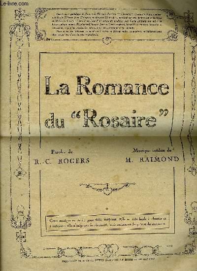 LA ROMANCE DE LA ROSAIRE