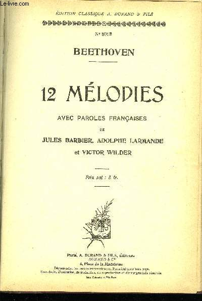 12 MELODIES