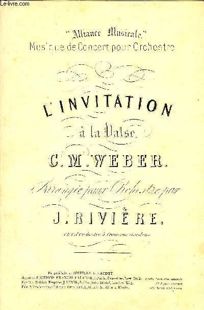L'INVITATION A LA VALSE