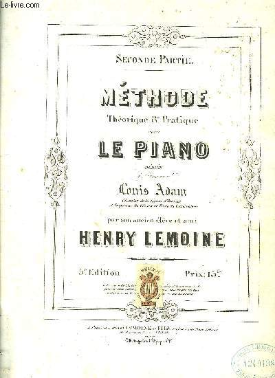METHODE POUR LE PIANO