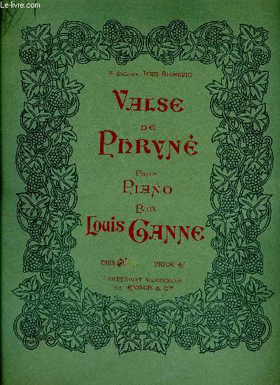 VALSE DE PHRYNE