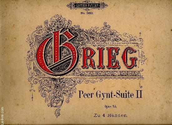 PEER GYNT SUITE II