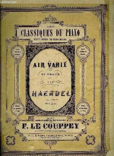 AIR VARIE (LE JOYEUX FORGERON)