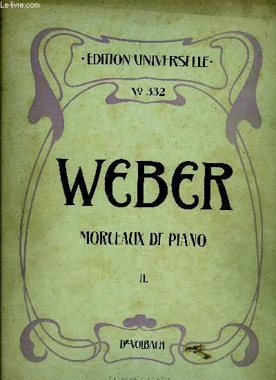 MORCEAUX DE PIANO II