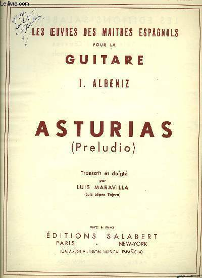 ASTURIAS (PRELUDIO)