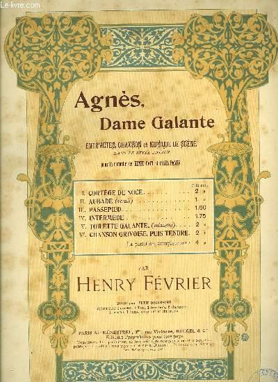 AGNES, DAME GALANTE