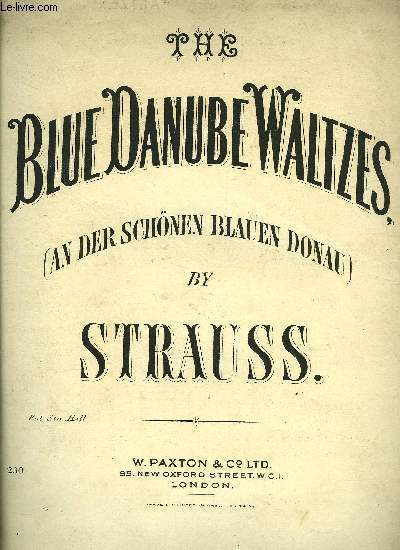 THE BLUE DANUBE WALTZES