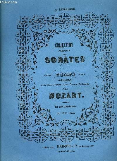 COLLECTION COMPLETE DES SONATES, 1ERE SERIE