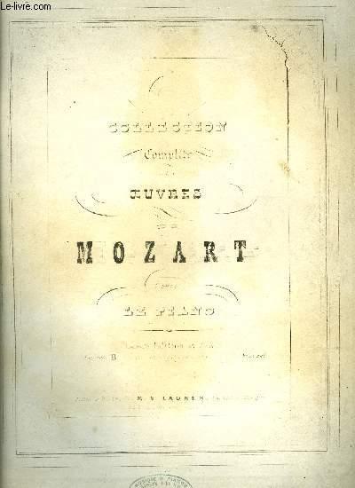 COLLECTION COMPLETE DES OEUVRES DE MOZART