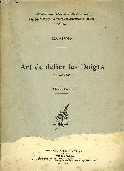 ART DE DELIER LES DOIGTS