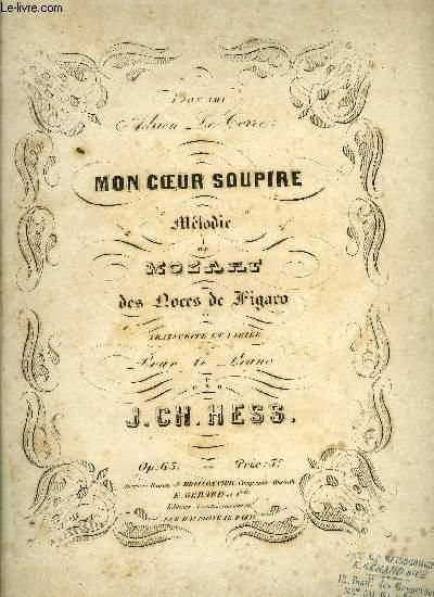 MON COEUR SOUPIR
