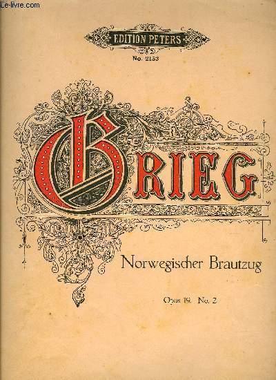 NORWEGISCHER BRAUTZUG (MARCHE NUPTIALE - BRIDAL PROCESSION)