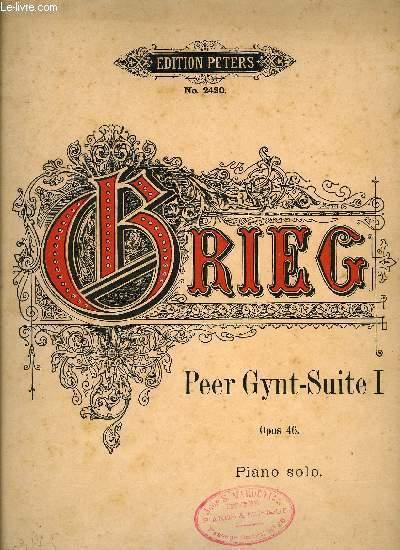 PEER GYNT SUITE I