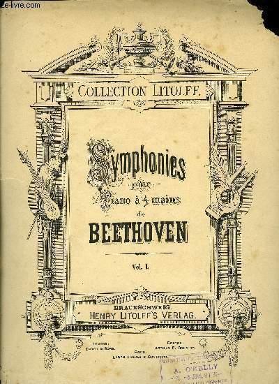SYMPHONIES POUR PIANO A QUATRE MAINS VOLUME I