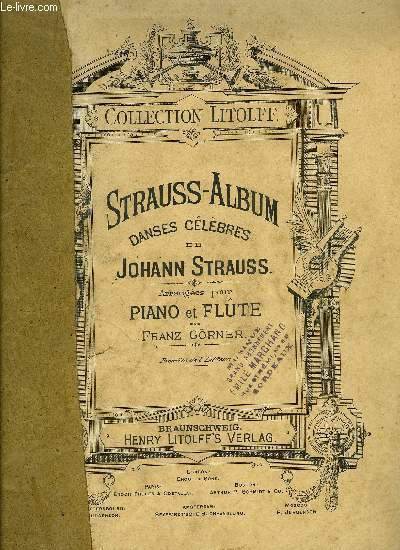 STRAUSS-ALBUM (DANSES CELEBRES)