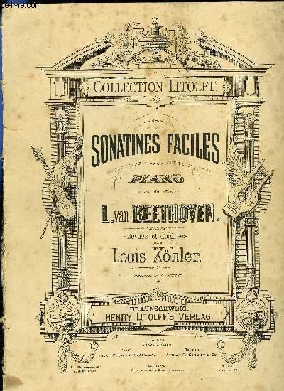 SONATINES FACILES POUR PIANO