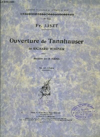 OUVERTURE DE TANNHAUSER