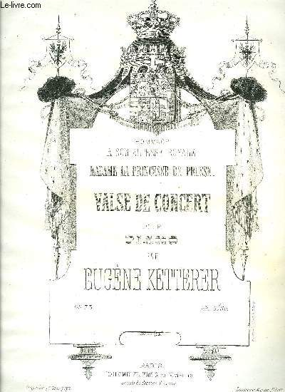 VALSE DE CONCERT