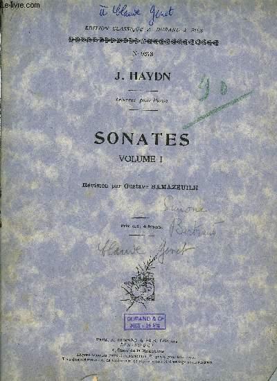 SONATES VOLUME I