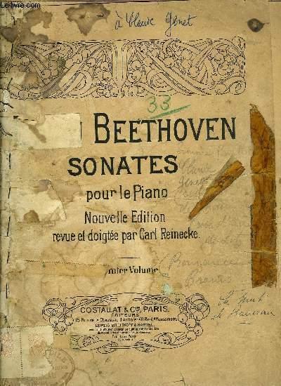 SONATES POUR LE PIANO PREMIER VOLUME