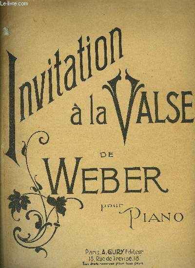 INVITATION A LA VALSE