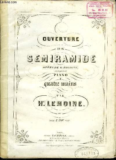 OUVERTURE DE SEMIRAMIDE