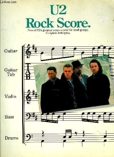 U2 ROCK SCORE