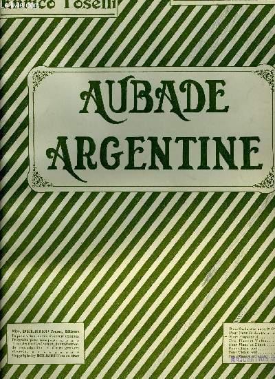 AUBADE ARGENTINE