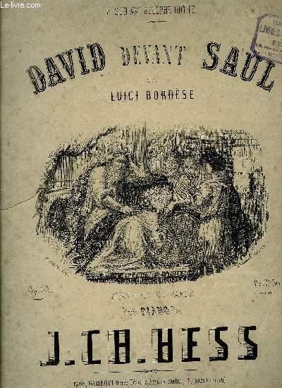 DAVID DEVANT SAUL