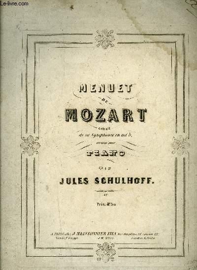 MENUET DE MOZART