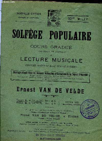 SOLFEGE POPULAIRE
