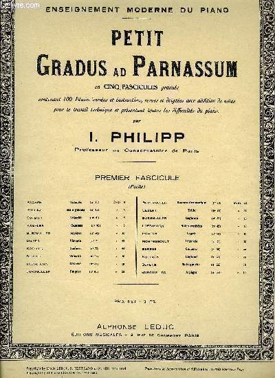 PETIT GRADUS AD PARNASSUM
