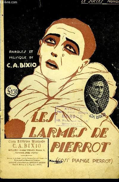 LES LARMES DE PIERROT (COSI PIANGE PIERROT)