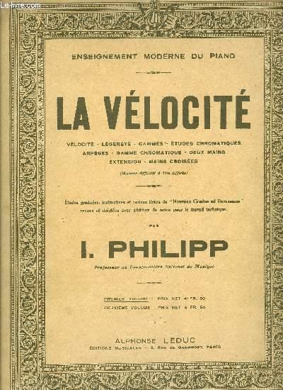 LA VELOCITE PREMIER VOLUME