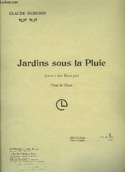 JARDINS SOUS LA PLUIE