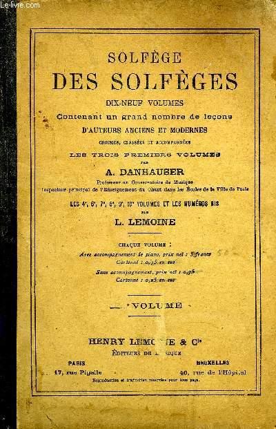 SOLFEGE DES SOLFEGES 2EME VOLUME