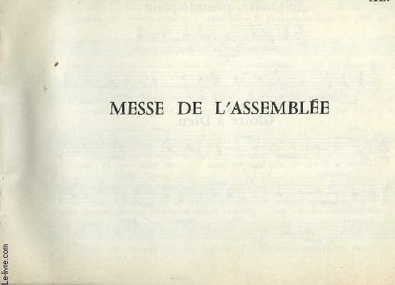 MESSE DE L'ASSEMBLEE
