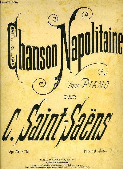CHANSON NAPOLITAINE
