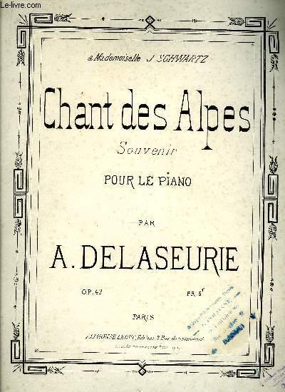 CHANT DES ALPES