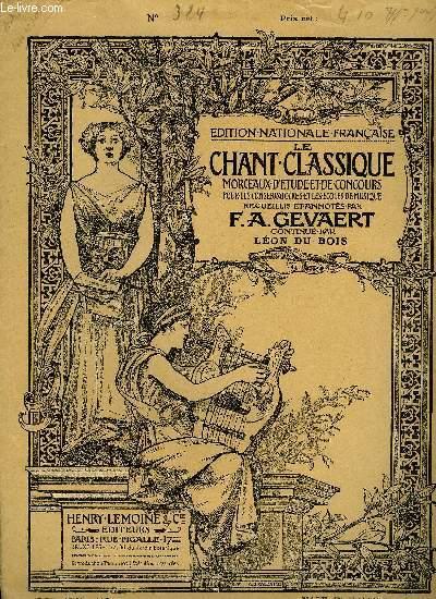 LE CHANT CLASSIQUE N°324