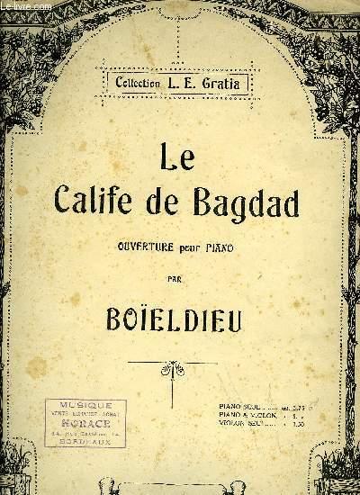 LE CALIFE DE BAGDAD, OUVERTURE