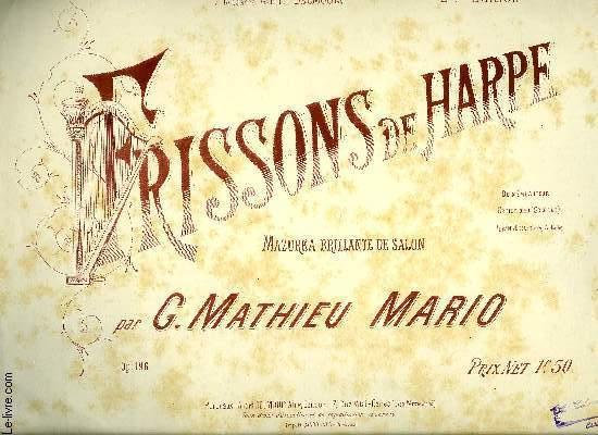 FRISSONS DE HARPE