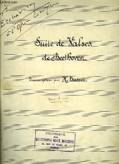 SUITE DE VALSES