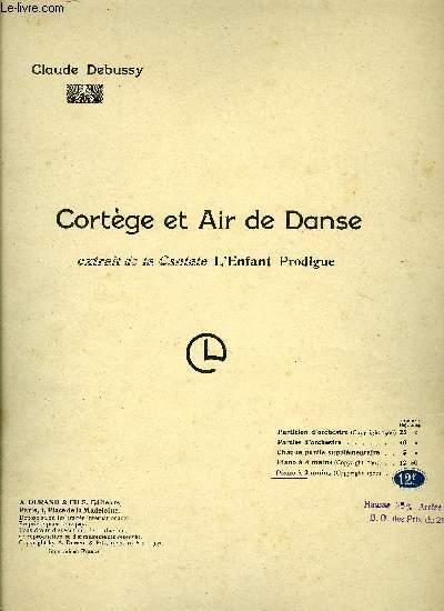 CORTEGE ET AIR DE DANSE