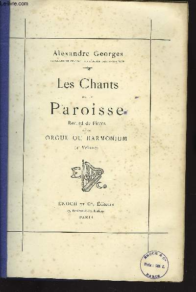 LES CHANTS DE LA PAROISSE 2EME VOLUME