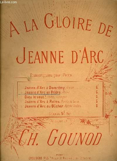JEANNE D'ARC EN PRIERE