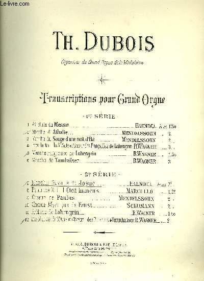 MARCHE-GAVOTTE DE JOSUE