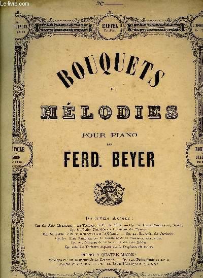 Bouquets de Mélodies pour piano - Les Huguenots.