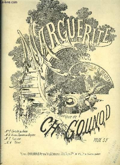 MARGUERITE ROMANCE pour soprano ou tenor N°3 chant et piano